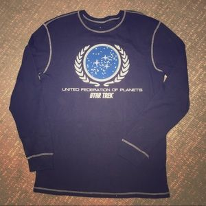 Star Trek Longsleeve Thermal shirt